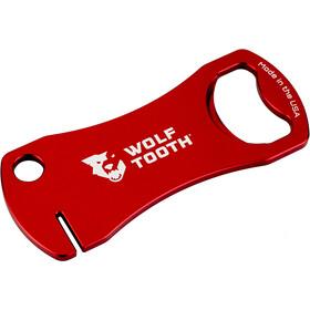 Wolf Tooth Apribottiglie Utensile Per La Fresatura Del Rotore, rosso